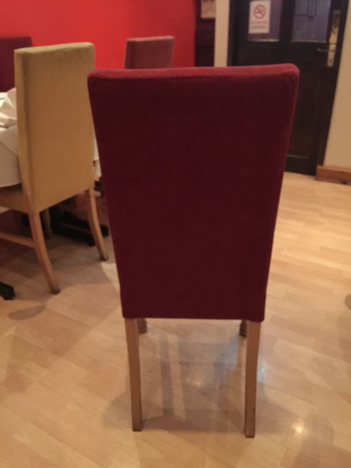 Secondhand Hotel Furniture Dining Chairs 35x Dining