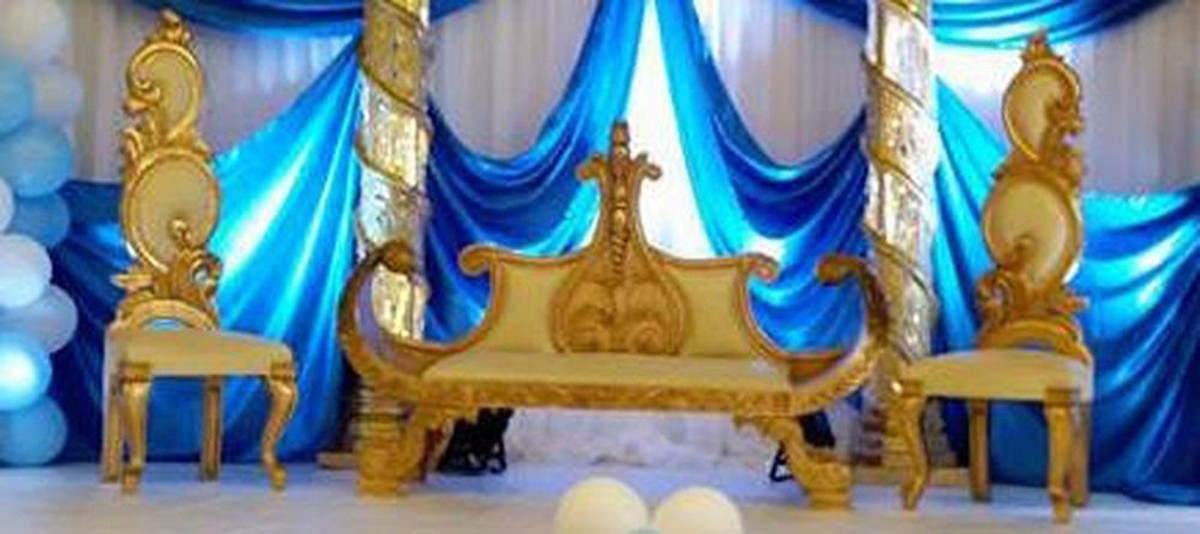 wedding chaise longue crown stage props. Black Bedroom Furniture Sets. Home Design Ideas
