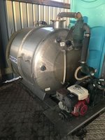 Rapide Vacuum Toilet Tank Stainless Steel