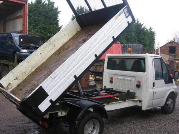 Ford Transit 3.5 Ton Dropside Tipper