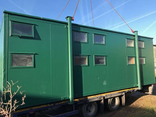 24ft x 9ft 10 Berth Sleeper Cabin / Shepherds Hut / Accommodation Block