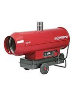 Arcotherm EC85 with 2 Way Splitter, 2 Ducts & 2 Diffusers