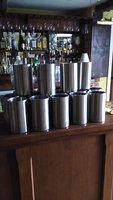 14x Stainless Steel Wine Coolers