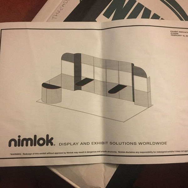 Nimlok Exhibition Display System
