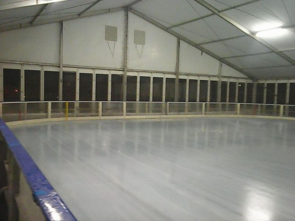 The Ice Skating Rink Dasher Boards for temporary or stationary ice
