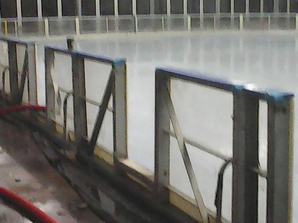 Protective Glass The Ice Skating Rink Dasher Boards