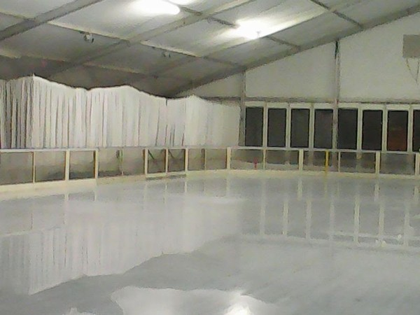 Ice Skating Rink Dasher Boards for temporary or stationary ice
