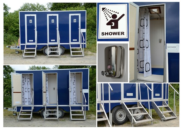 Profitable Toilet and Shower Hire Company