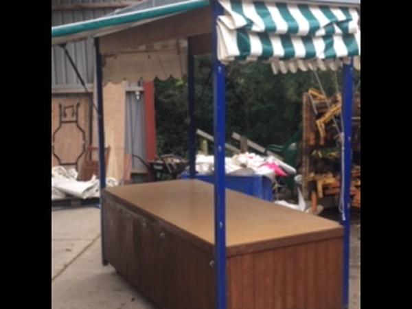Mobile Market stalls