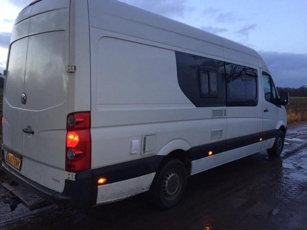 Secondhand Crafter Camper Van