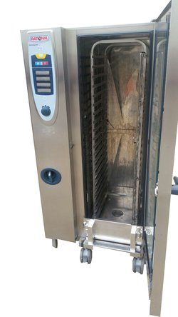Rational SCC 20 Grid Nat Gas Combi Oven