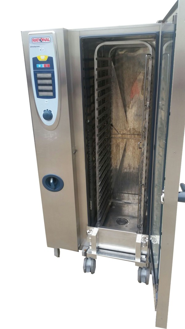 Rational SCC 20 Grid Nat Gas Combi Oven