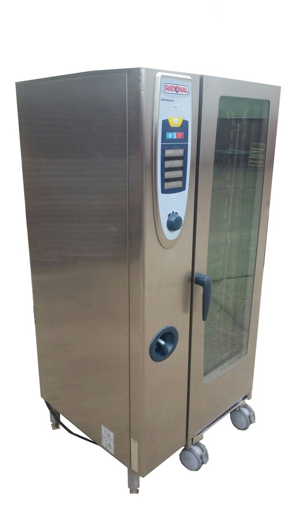 Rational SCC 20 Grid Natural Gas Combi Oven