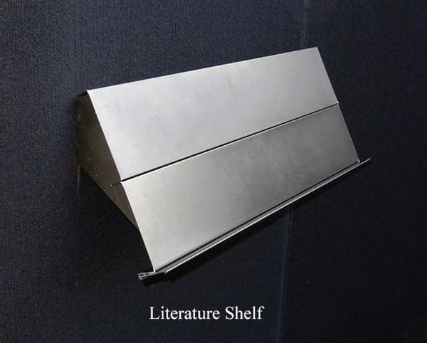 Literature shelf