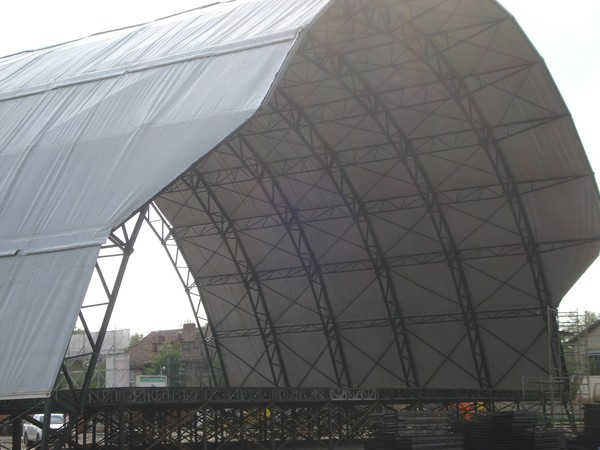 30m Stage roof