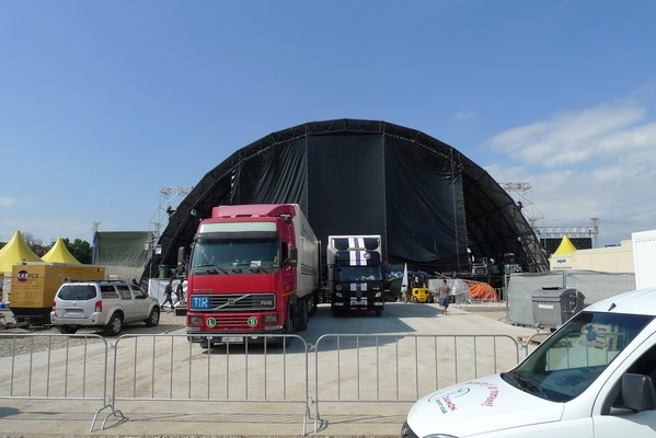 Big festival stage for sale