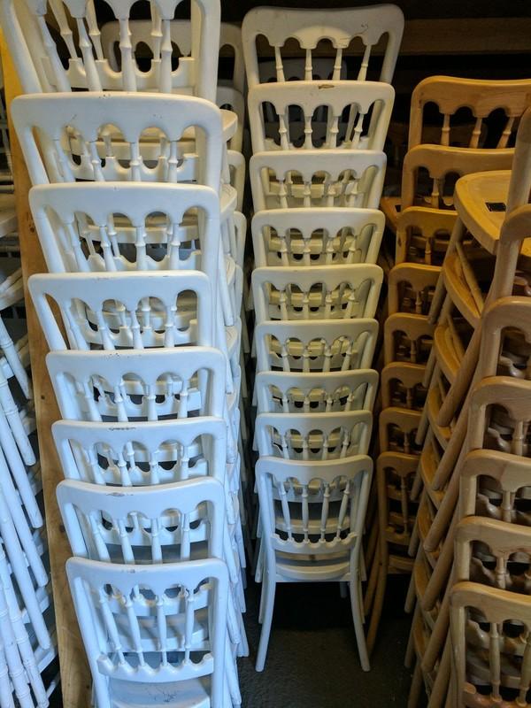 160x White Cheltenham Chairs