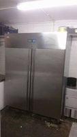 HUSKY Stainless Steel Commercial Storage Fridge