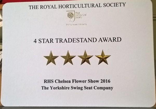 The RHA 4 * trade stand award