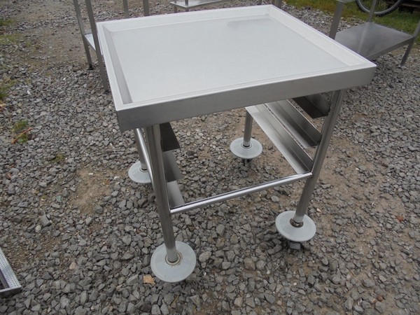 Stainless Steel Dishwasher Tray Trolley (4323)