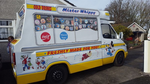 Commercial Vehicle Ice Cream Van
