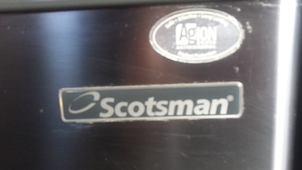 Scotsman EC 106 Ice Maker with Integral Drain Pump 50Kg / 24Hrs