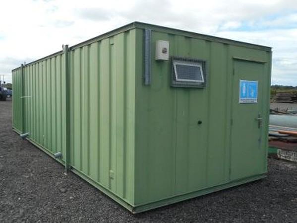 32' x 10' Anti Vandal Toilet Shower Block Portable Building Urinal Container