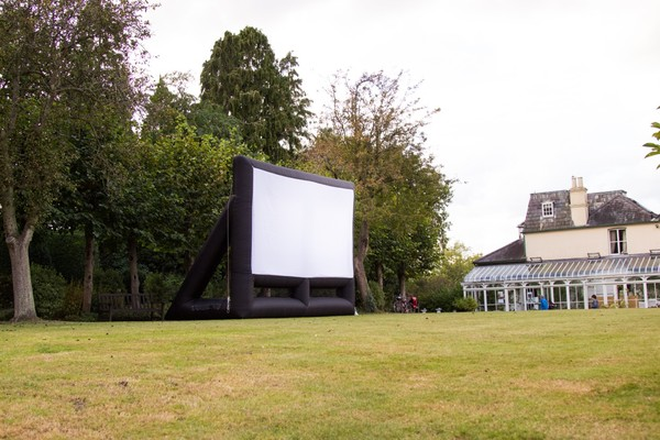 Secondhand Inflatable Cinema Screen