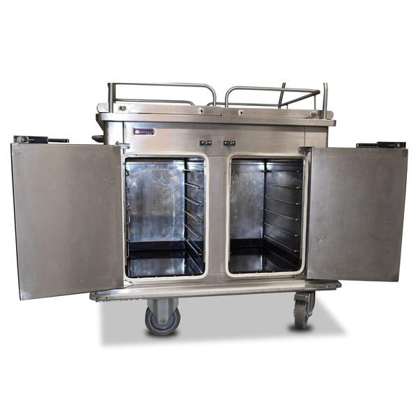 Serving trolley / hot cupboard