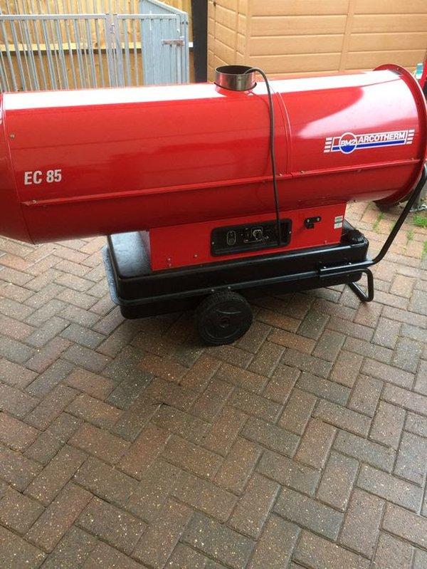 EC 85 Marquee heater