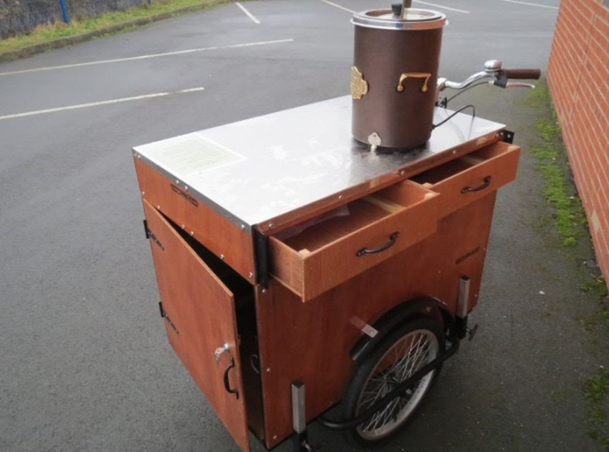 Tricycle Coffee / Tea Bike - London N1