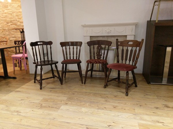 Used Traditional Style Pub Chairs - Assorted - (Product code: MF2621)