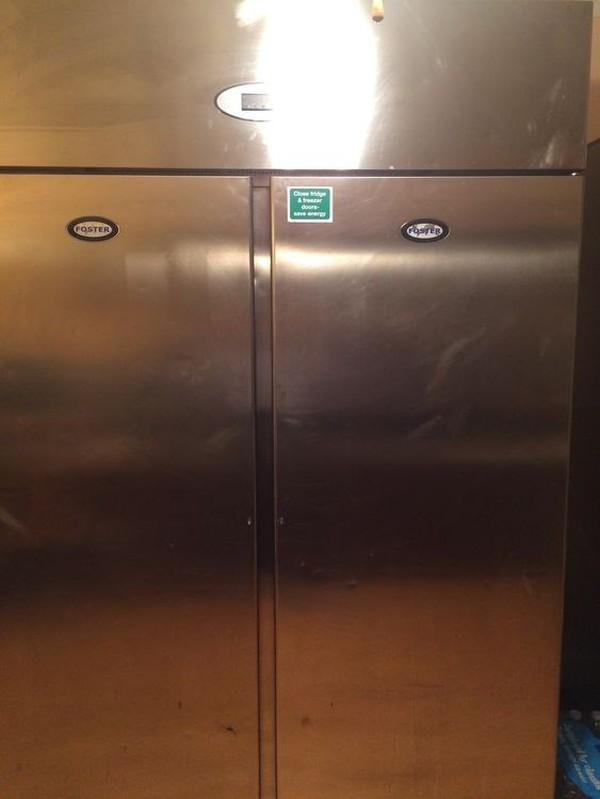 Foster Double Door Freezer PROG1350L Upright Commercial Catering Freeze