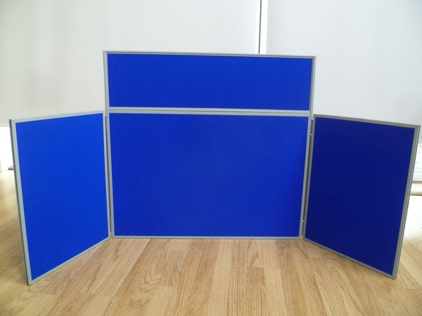 Velcro display pannels