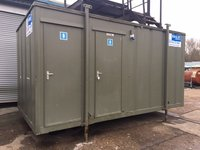 3+1 16' x8' Anti-Vandal Mains Toilet Block