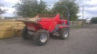 Neuson 6001 6T dumper 2007 Perkins engine