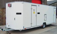Combined Decontamination Shower & Welfare Facility