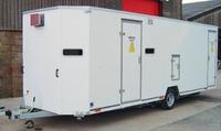 Combined Decontamination Shower & Welfare Facility