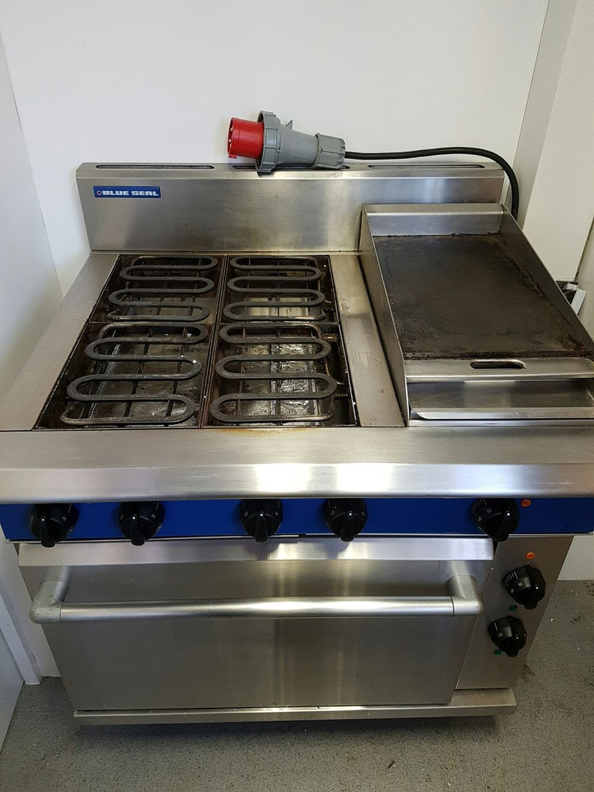 Secondhand Catering Equipment Electric Range Cooker