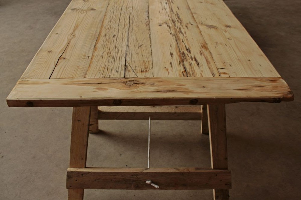 Secondhand Pub Equipment Chairs Rustic Trestle Tables