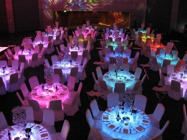 Perspex Banqueting Tables