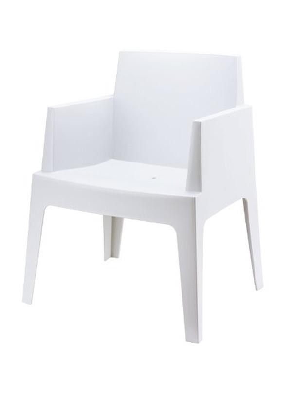 White PP Seating