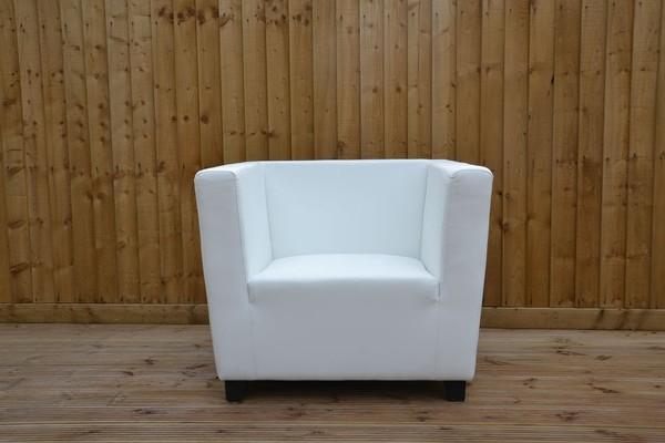 White Sofas, Armchairs, Benches & Stools