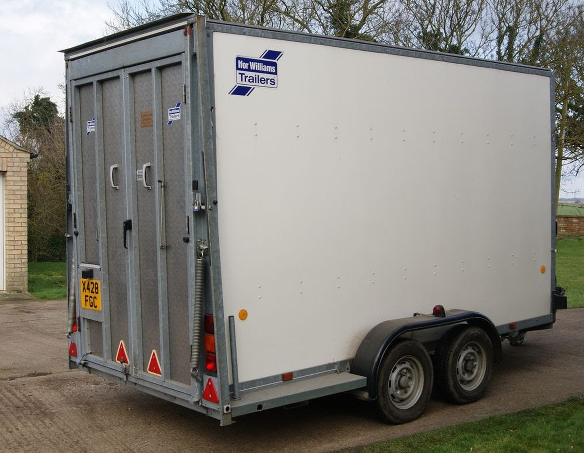 Secondhand Trailers Box Trailers Ifor Williams Bv125g