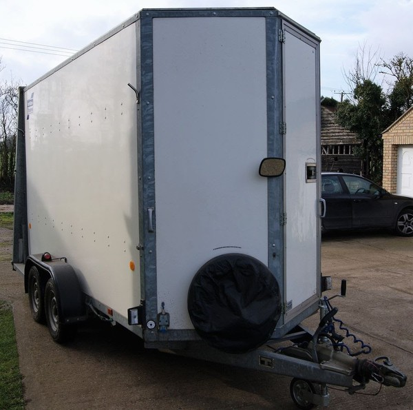Ifor Williams BV125G Box Trailer 7ft Height
