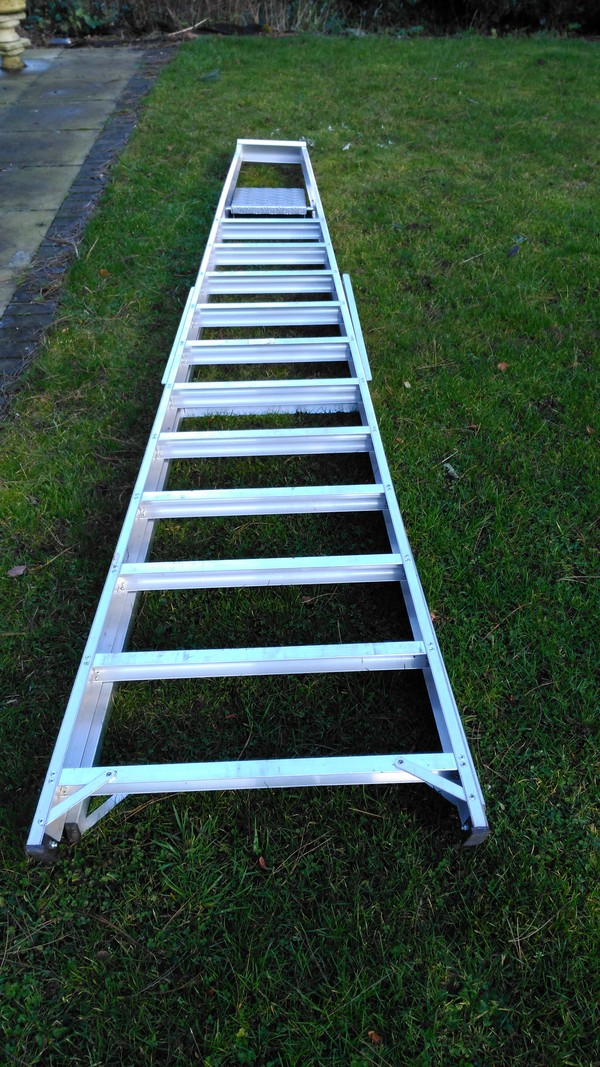Titan class 1 industrial duty ladder