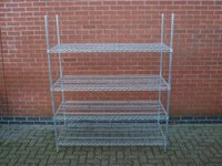 4 x  Free-standing Kitchen Racking