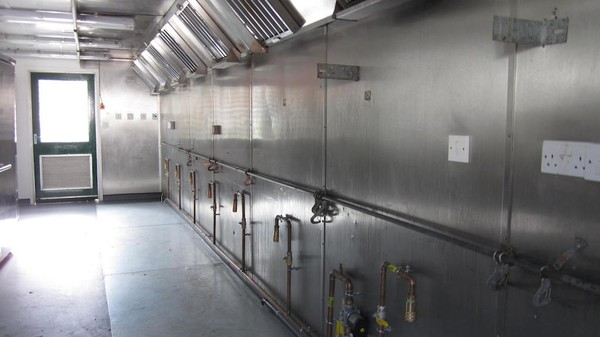 Big Daddy Food Production kitchen interior