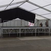 Portable Stage, 10m x 9m up to 2m high