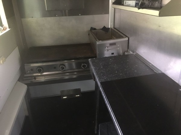 Airstream Effect Catering Trailer